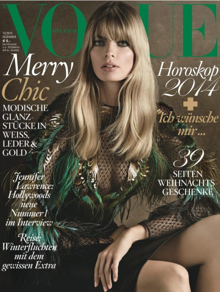 VOGUE GERMANY COVER – DECEMBER 2013