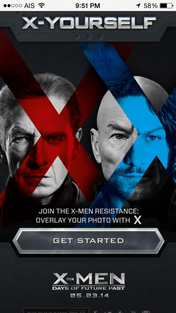 X-YOURSELF : X-MEN Days of Future Past