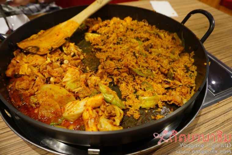 Octopus and Chicken Galbi | Yoogane at Siam Square
