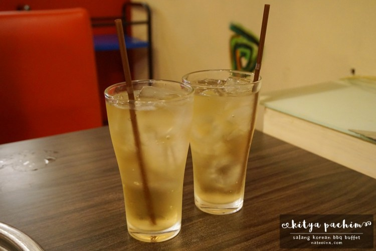 Refill Iced Tea | Salang Korean BBQ Buffet, Phaya Thai