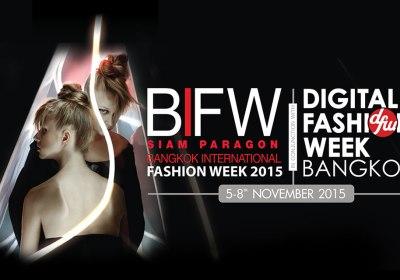 BIFW2015 | Bangkok International Fashion Week 2015 (Schedule)