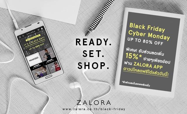 PR | ZALORA Black Friday Cyber Monday campaign