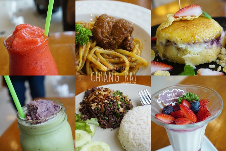 Food and Dessert at Melt in Your Mouth | Chiang Rai
