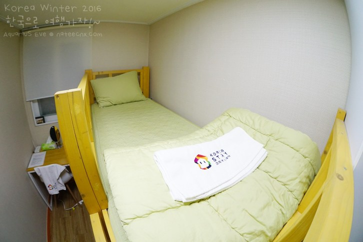 2-Bed Dormitory Room (Female) at Cocoon Stay Hongdae Guesthouse