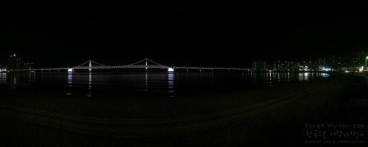 Gwangalli Beach & Gwangan Bridge