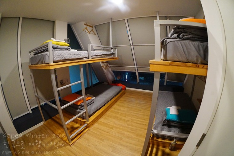 6-Bed Female Dormitory Room at First Guesthouse, Haeundae, Busan