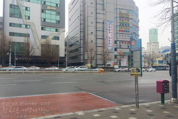 ฺBus Stop go to Busan Gamcheon Culture Village