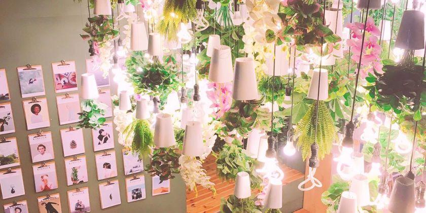 รวม 10 คาเฟ่ดอกไม้ในโซล, เกาหลีใต้ | 10 Beautiful Flowers Cafe in Seoul, South Korea