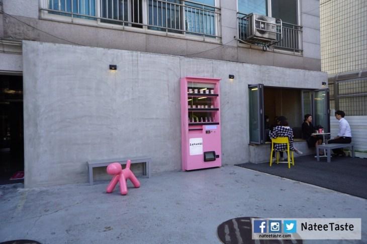 Zapangi (자판기) ซาพังกี คาเฟ่ตู้กดสีชมพู