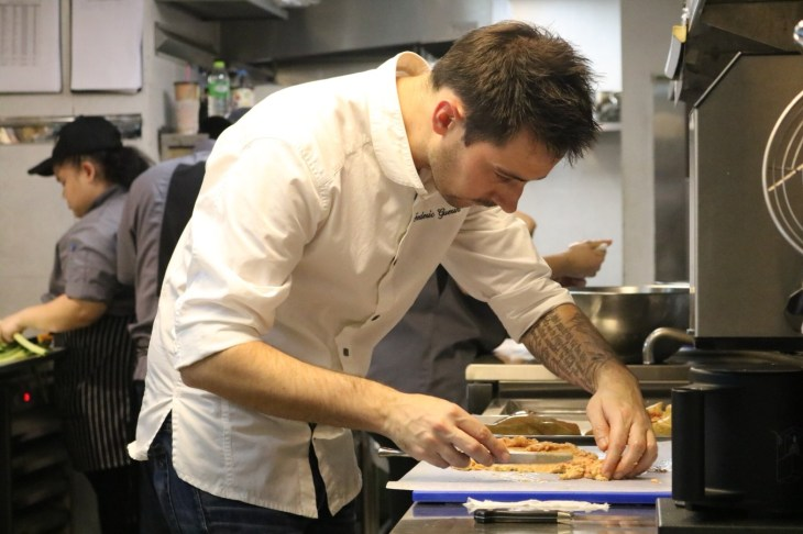 Chef Frederic Guerin