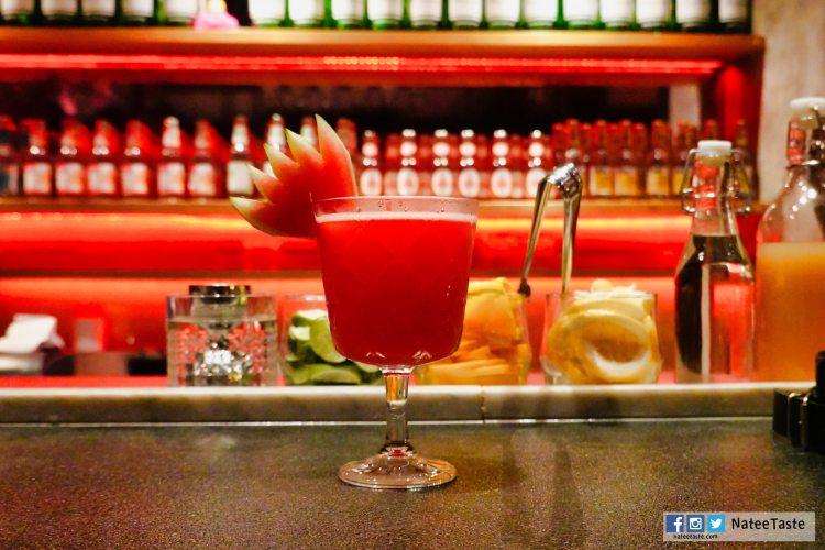 Twink's Mararita (280 บาท) (Jose Cuervo, triple sec, fresh watermelon)