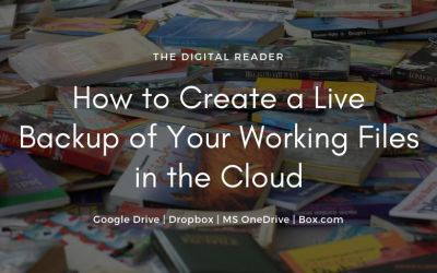 How to Create a Live Backup of Your Working Files Using Google Drive
