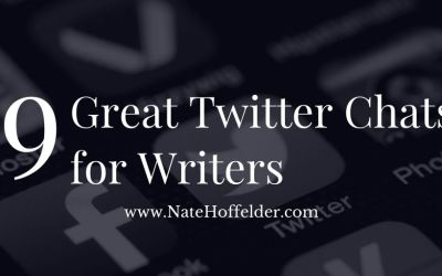 (Ten) Great Twitter Chats for Writers
