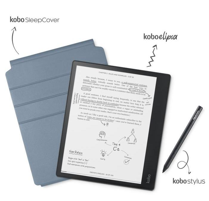 Kobo Continues to Play Catch Up With the Launch of the 10.3″ Elipsa eReader