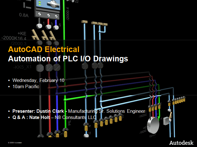 Tutorial – Automation Of PLC I O Drawings – AutoCAD Electrical