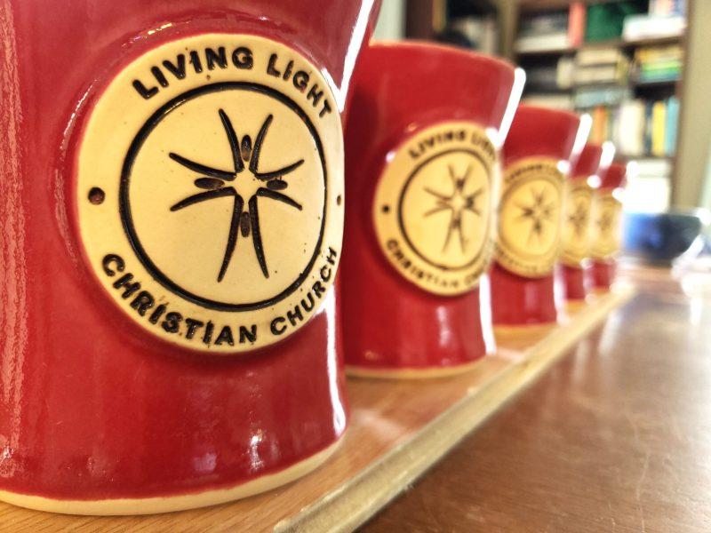 living light custom mugs