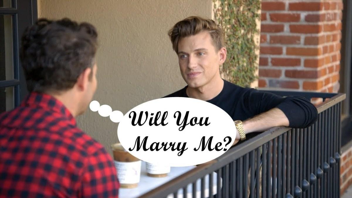 Nate and Jeremiah Wedding Proposal Story
