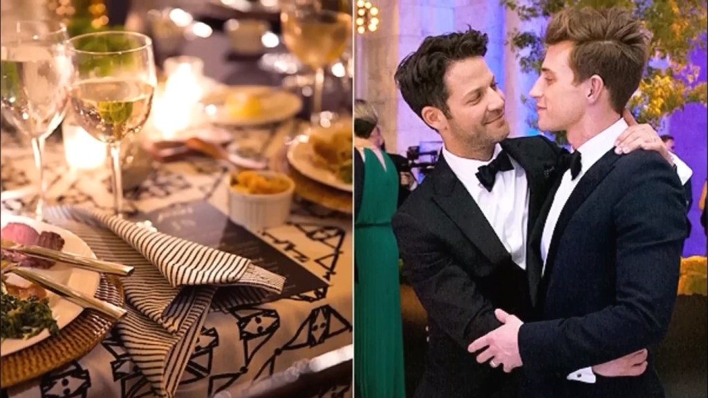 Nate Berkus wedding with Jeremiah Brent