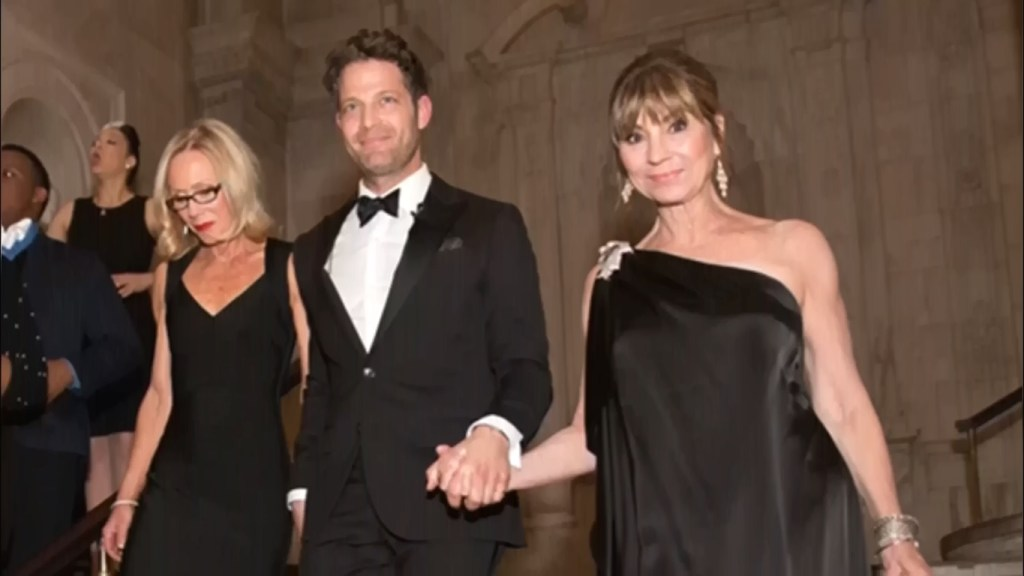Nate Berkus Wedding Picture with Mother