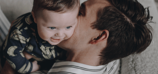 Oskar Brent Berkus with Daddy
