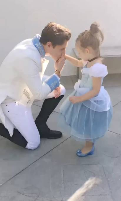 Jeremiah Brent and Poppy Halloween