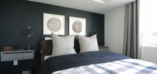 small apartment bedroom makeover story