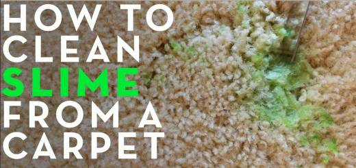 how to remove slime from carpet