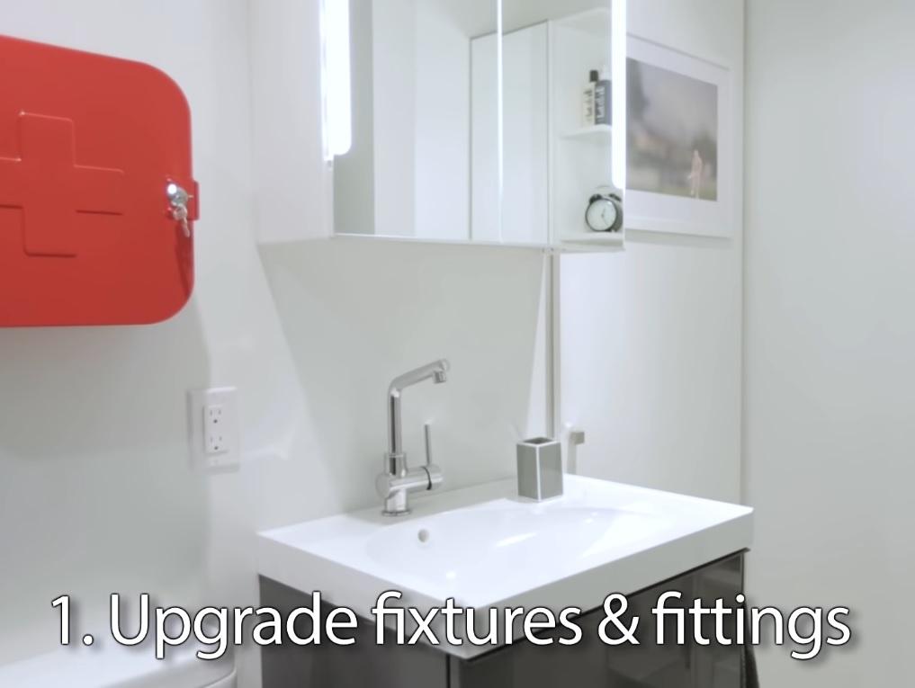 bathroom cleaning hacks sink after