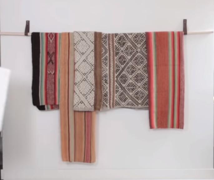 Wall Hangings Ideas leather belt