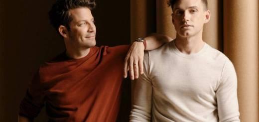Nate and Jeremiah as gay men