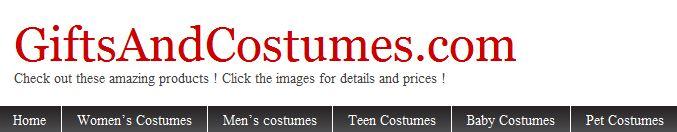 GiftsAndCostumes.com Website Logo
