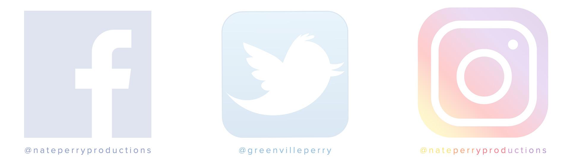 Greenville Videographer on social media