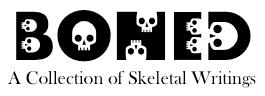 boned wordmark new