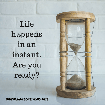 Life Happens in an Instant