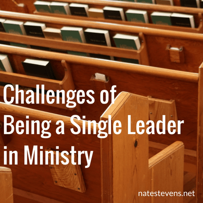 Challenges of Being a Single Leader in Ministry