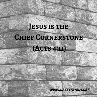 The Need for a Perfect Cornerstone