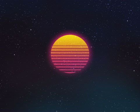 Rad Pack 80sThemed HD Wallpapers  Nate Wren  Graphic Design