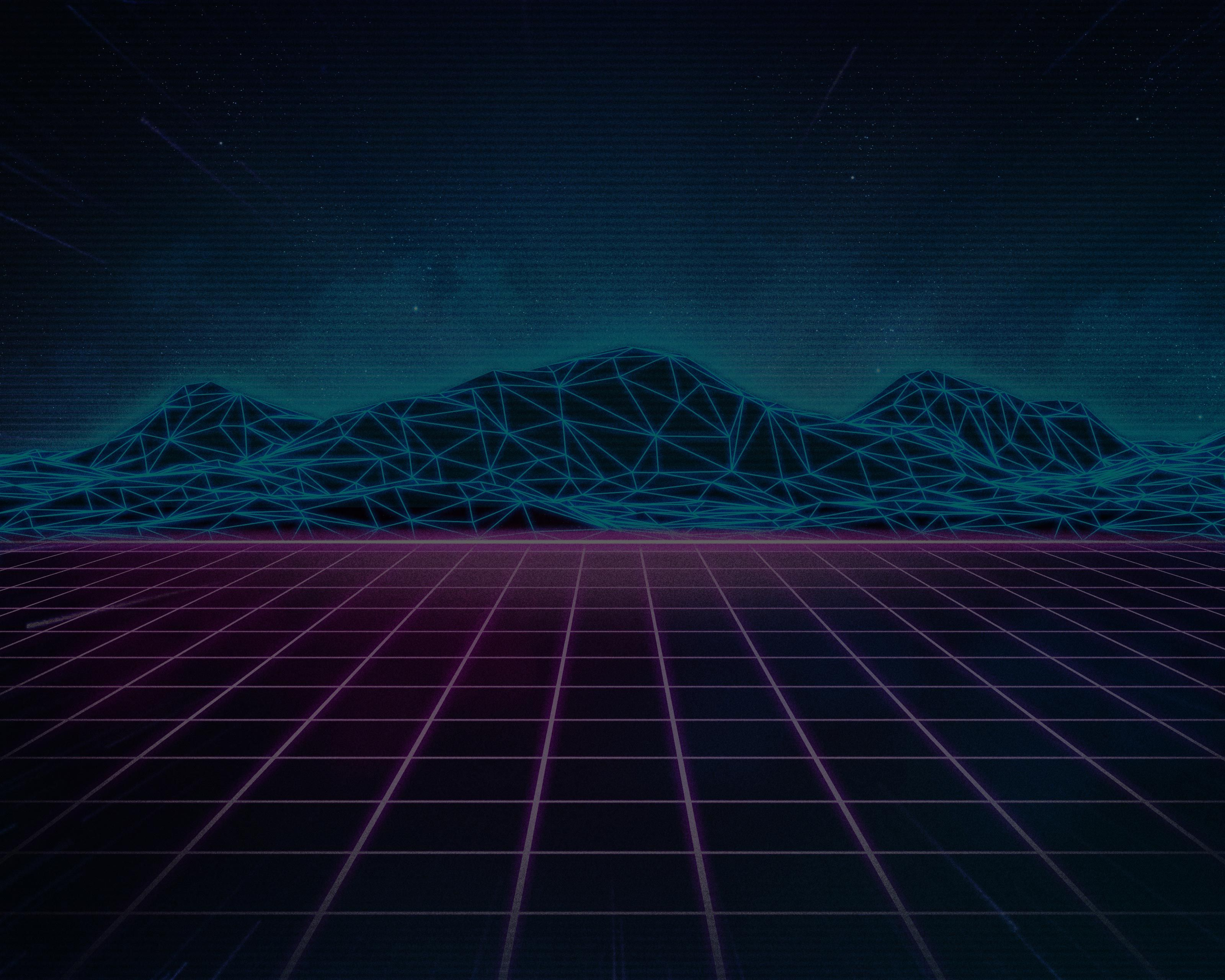 Rad Pack 80s Themed HD Wallpapers Nate Wren Graphic