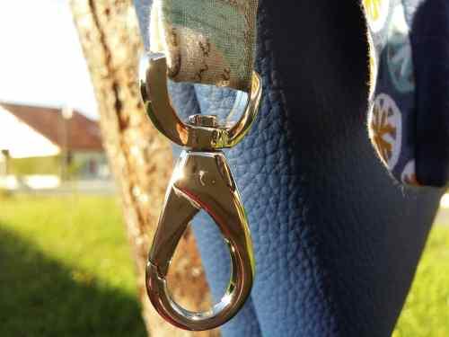 Mousqueton - sac simili cuir personnalisé - Bayonne (64)