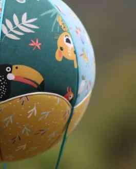 Montgolfière Animaux exotiques