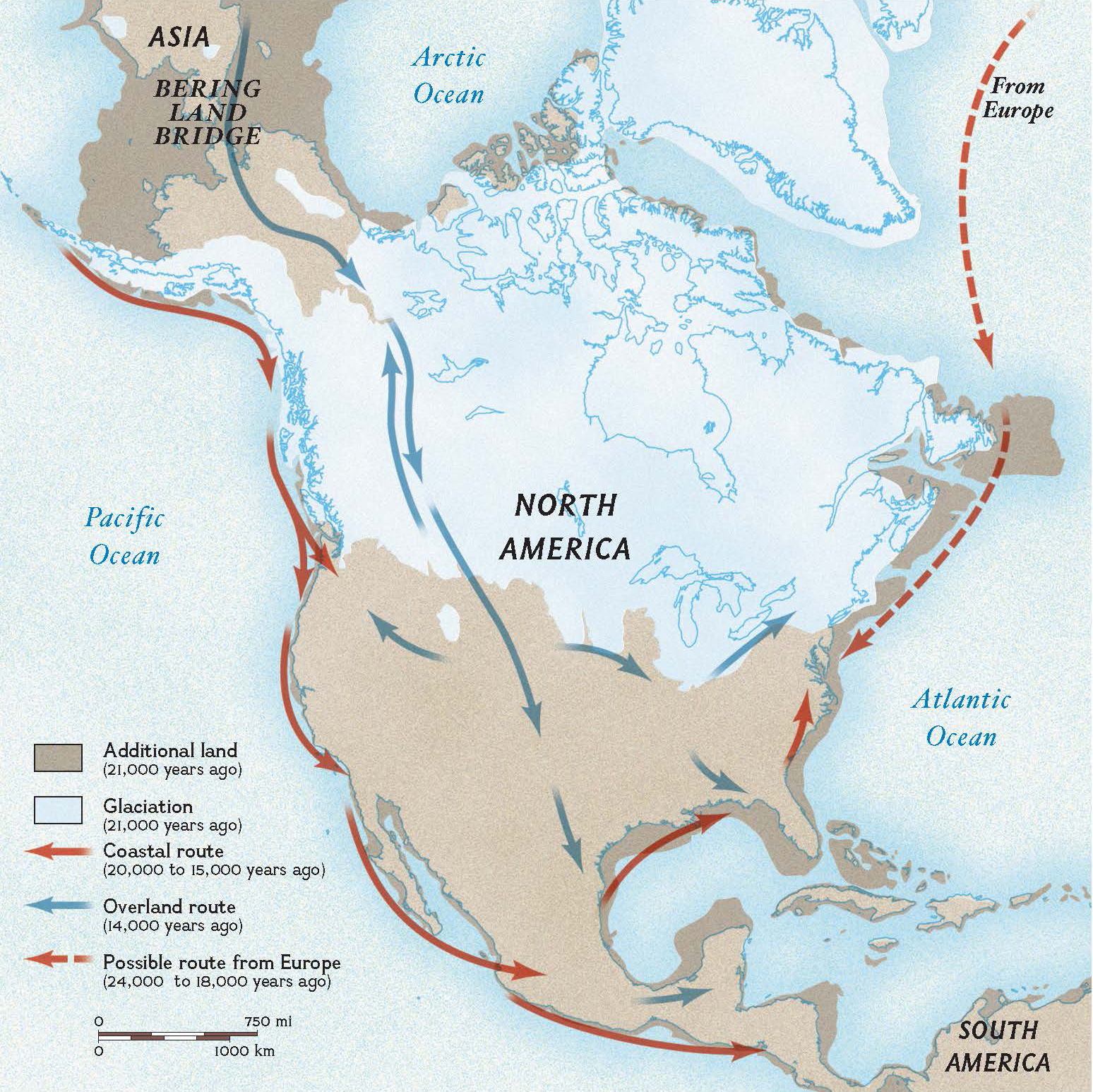Ancient Dna Links Native Americans National Geographic
