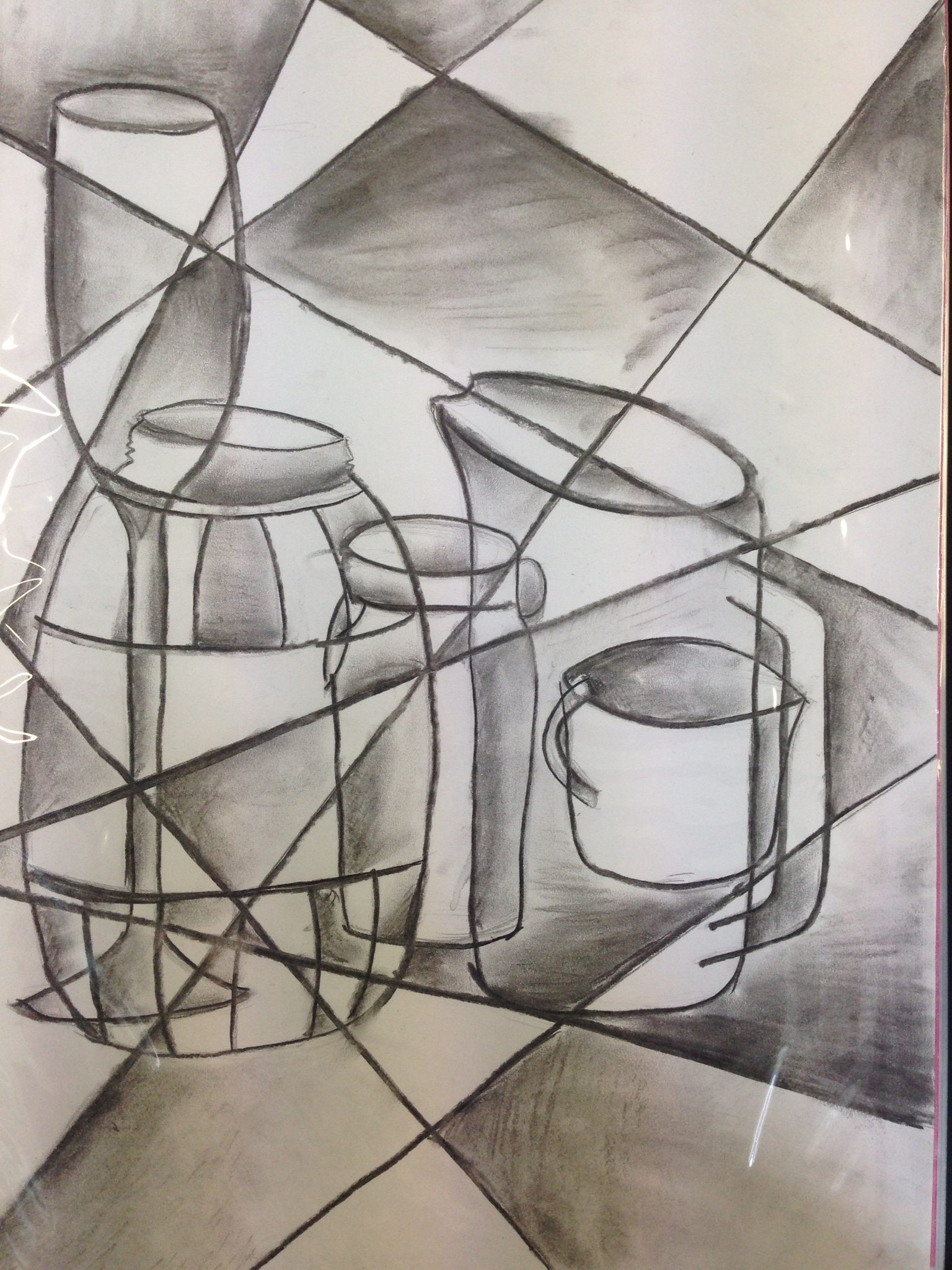 Cubism Still Life