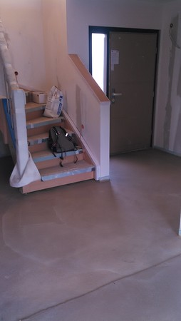 Die Treppe ist jetzt einfacher zu nutzen.