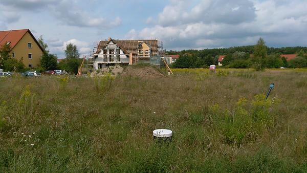 In den letzten Wochen ist ein weiteres Haus in der Nachbarschaft entstanden.