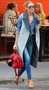 144534, Olivia Palermo and husband Johannes Huebl seen leaving st Ambroeus restaurant in west village, NYC. New York, New York - Tuesday November 03, 2015. Photograph: © PacificCoastNews. Los Angeles Office: +1 310.822.0419 sales@pacificcoastnews.com FEE MUST BE AGREED PRIOR TO USAGE