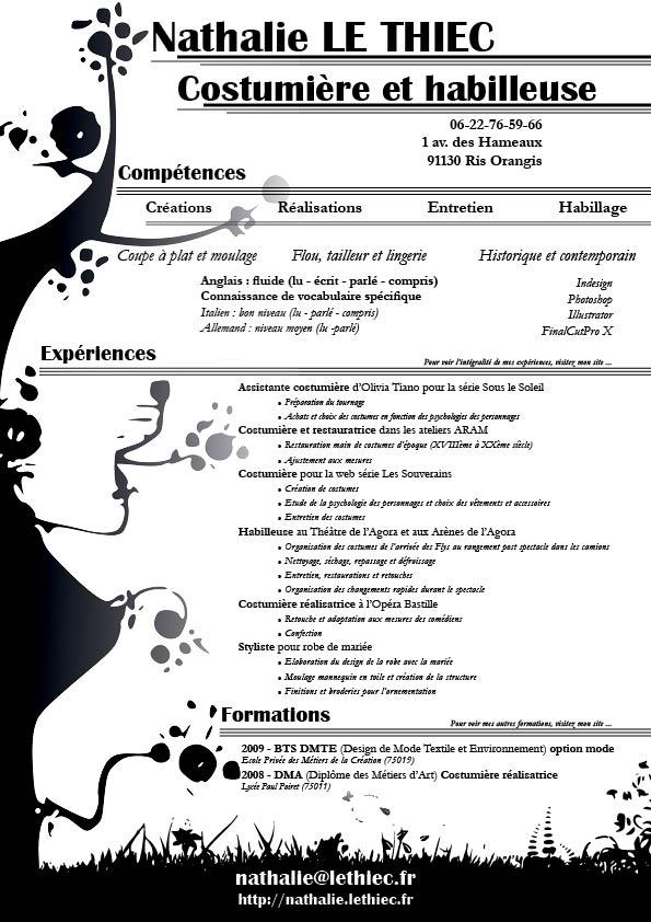 Exemple De CV Costumire