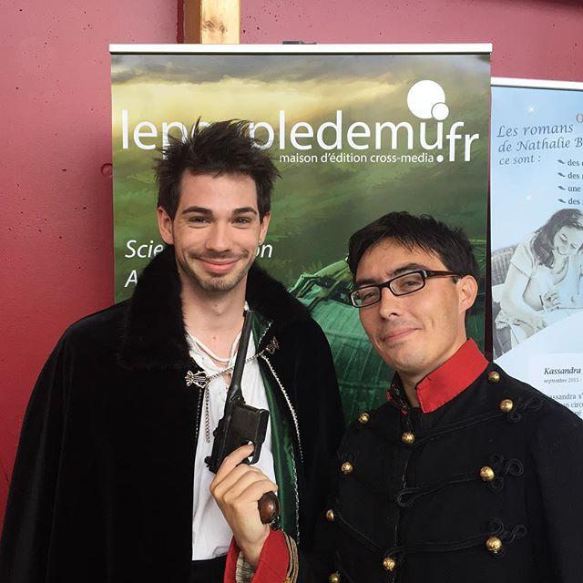 Conseils vestimentaires auteurs - Morgan Malet et Pierre Léauté