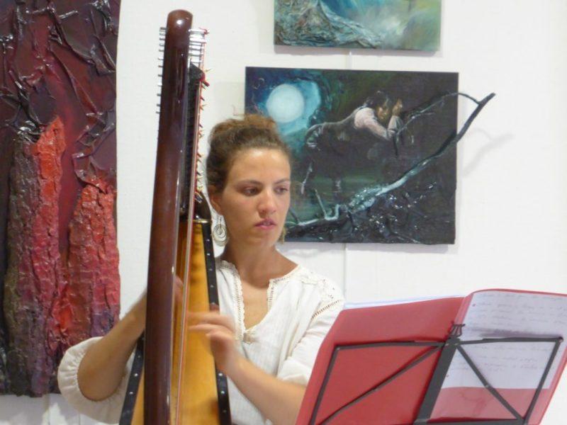 compte-rendu Festimaginaires - harpiste