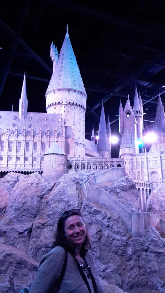 Sortie de Villes de légende J-6 - Nathalie Bagadey aux Harry Potter Warner Bros studios