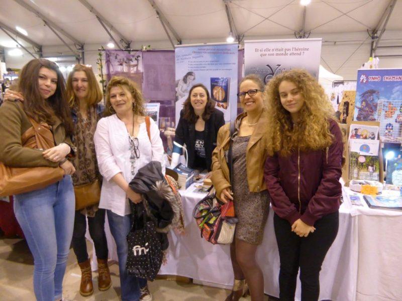Salon Fantastique Paris 1 - Sophie, Noelle et leur famille